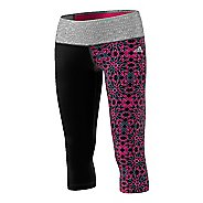 Womens Adidas Performer Mid-Rise 3/4 Printed Tights & Leggings Pants