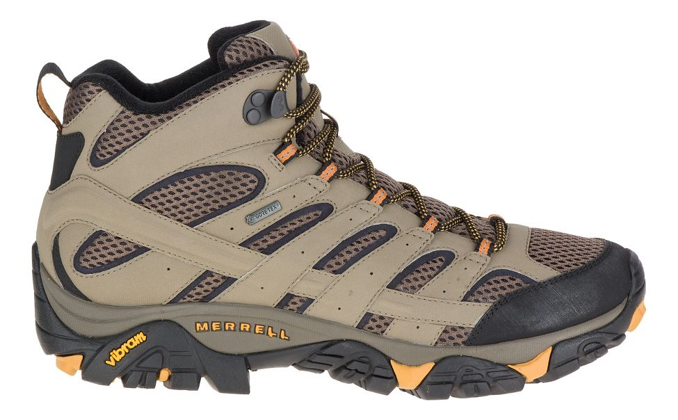 04e805dfa52dc Mens Merrell Moab 2 Mid GTX Hiking Shoe at Road Runner Sports