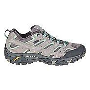Womens Merrell Moab 2 Waterproof Hiking Shoe - Dizzle/Mint 5.5