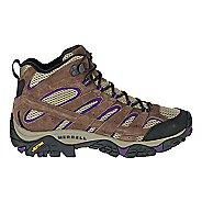 Womens Merrell Moab 2 Vent Mid Trail Running Shoe - Bracken/Purple 8.5