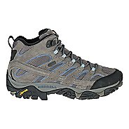 Womens Merrell Moab 2 Mid Waterproof Hiking Shoe - Granite 8
