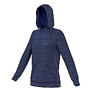 Womens Adidas Team Issue Fleece Pullover Half-Zips & Hoodies Technical Tops