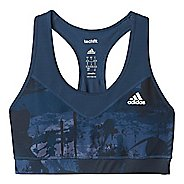 Womens Adidas Techfit Printed Sports Bras