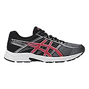 Mens ASICS GEL-Contend 4 Running Shoe - Carbon/Red 11