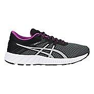 Womens ASICS fuzeX Lyte 2 Running Shoe - Carbon/Silver/Black 6