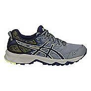 Womens ASICS GEL-Sonoma 3 Trail Running Shoe - Grey/Blue/Lime 10.5