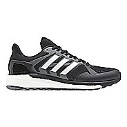 Mens adidas Supernova ST Running Shoe - Black/White 10