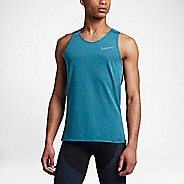 Mens Nike Breathe Tailwind Sleeveless & Tank Technical Tops - Industrial Blue XL