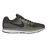 Mens Nike Air Zoom Pegasus 34 Running Shoe - Olive 10