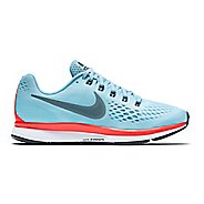 Womens Nike Air Zoom Pegasus 34 Running Shoe - Blue 6