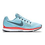 Womens Nike Air Zoom Pegasus 34 Running Shoe - Blue 9.5