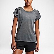 Womens Nike Breathe Short Sleeve Technical Tops