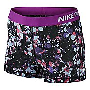 "Womens Nike Pro Cool 3"" Printed Compression & Fitted Shorts"
