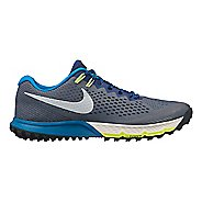 Mens Nike Air Zoom Terra Kiger 4 Trail Running Shoe - Grey/Blue 9.5