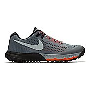 Womens Nike Air Zoom Terra Kiger 4 Trail Running Shoe - Grey/Red 8.5