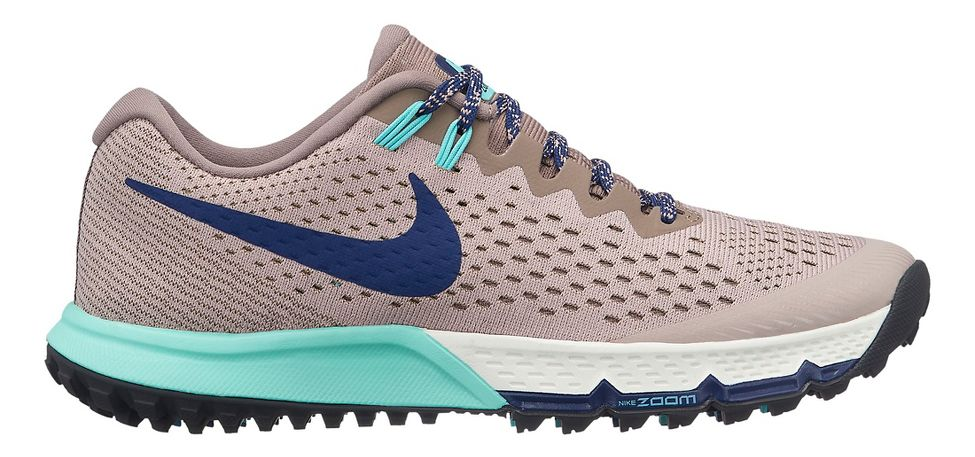 922c2057 Women's Nike Air Zoom Terra Kiger 4. Trail Running Shoes. Item #15000.  MSRP:$124.95. OUTLET: $80.87. Loading product details ... Your Color: Blue.  Your Size ...