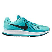 Kids Nike Air Zoom Pegasus 34 Running Shoe - Teal 5.5Y
