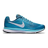 Kids Nike Air Zoom Pegasus 34 Running Shoe - Aqua 5Y