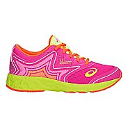 Kids ASICS Noosa FF Running Shoe - Pink Glo/Yellow 4.5Y