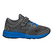 Kids ASICS Noosa FF Running Shoe - Carbon/Blue/Black 2.5Y