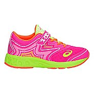 Kids ASICS Noosa FF Running Shoe - Pink Glow/Yellow 1.5Y