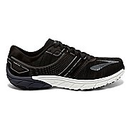 Mens Brooks  PureCadence 6 Running Shoe - Black/Silver 9.5