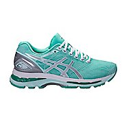 Womens ASICS GEL-Nimbus 19 Exclusive Running Shoe - Mint/Silver 7.5