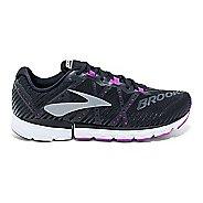 Womens Brooks Neuro 2 Running Shoe - Black/Purple 7.5