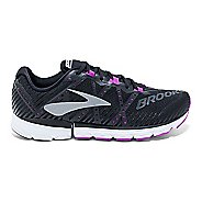Womens Brooks Neuro 2 Running Shoe - Black/Purple 9
