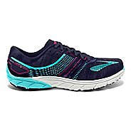 Womens Brooks  PureCadence 6 Running Shoe - Blue/Pink 6.5