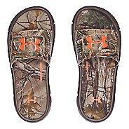Under Armour Ignite Camo V SL Sandals Shoe - Cleveland Brown 2Y