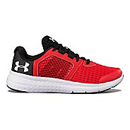 Kids Under Armour Micro G Fuel RN Running Shoe - Red/Black 3Y
