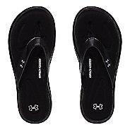 Womens Under Armour Marbella V T Sandals Shoe - Black 9