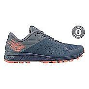 Womens New Balance Vazee Summit v2 Trail Running Shoe - Grey Blue/Coral 9