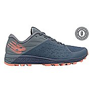 Womens New Balance Vazee Summit v2 Trail Running Shoe - Grey Blue/Coral 10