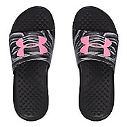 Womens Under Armour Strike Swirl SL Sandals Shoe