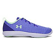 Under Armour Street Precision Sport Low Casual Shoe - Purple/Lime 3Y
