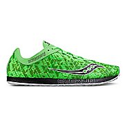Mens Saucony Endorphin Racer 2 Racing Shoe - Slime Black 9
