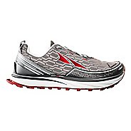 Mens Altra Timp IQ Trail Running Shoe - Charcoal/Red 10.5
