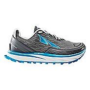 Womens Altra Timp iQ Trail Running Shoe - Charcoal/Blue 10.5