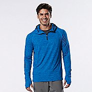 Mens R-Gear In the Zone 1/4 Zip Half-Zips & Hoodies Technical Tops - Bolt Blue S