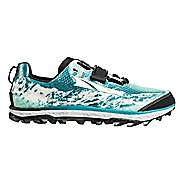 Womens Altra King MT Trail Running Shoe - Teal 7