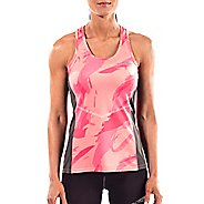 Womens Altra Running Sleeveless & Tank Tops Technical Tops - Pink S