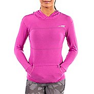 Womens Altra Performance Half-Zips & Hoodies Technical Tops - Orchid S
