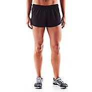 Womens Altra Racer Unlined Shorts - Black XS