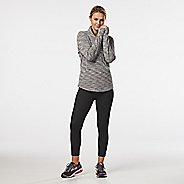 Womens R-Gear Layer Up Quilted Half-Zips & Hoodies Technical Tops - Grey Mist M