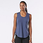 Womens R-Gear Split Time Sleeveless & Tank Technical Tops - Heather Storm Blue XL