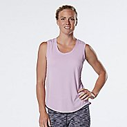 Womens R-Gear Split Time Sleeveless & Tank Technical Tops - Heather Lily M