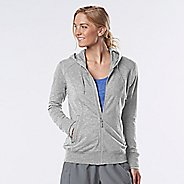 Womens R-Gear Always On Lightweight Half-Zips & Hoodies Technical Tops - Heather Chrome XS