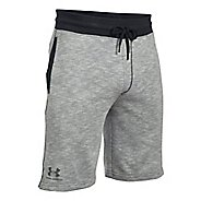 Mens Under Armour SS Camo Fleece Unlined Shorts